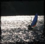 John sailing the Snark